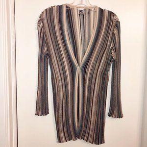 MISSONI Lightweight Cardigan Sweater Size L